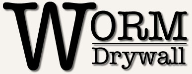 Worm Drywall Logo