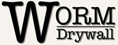 Worm Drywall Mobile Logo